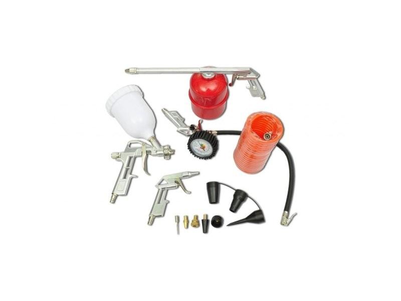 Kit 11 pi ces d 39 outils pneumatiques pour compresseur - Liste outils bricolage ...