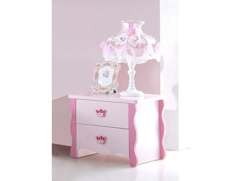 Table Vente Lila Chevet Princesse 347 De P Enfant Rose Design Co WHED92I