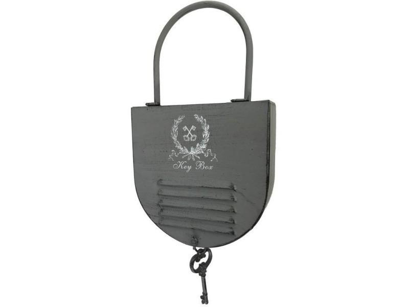 Boîte à clefs clés rangement porte clef clé mural 50 cm 10472