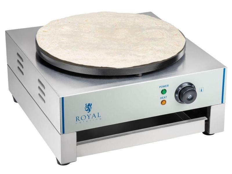 Crêpière professionnelle diamètre 40 cm puissance 3 000 watts helloshop26 3614049