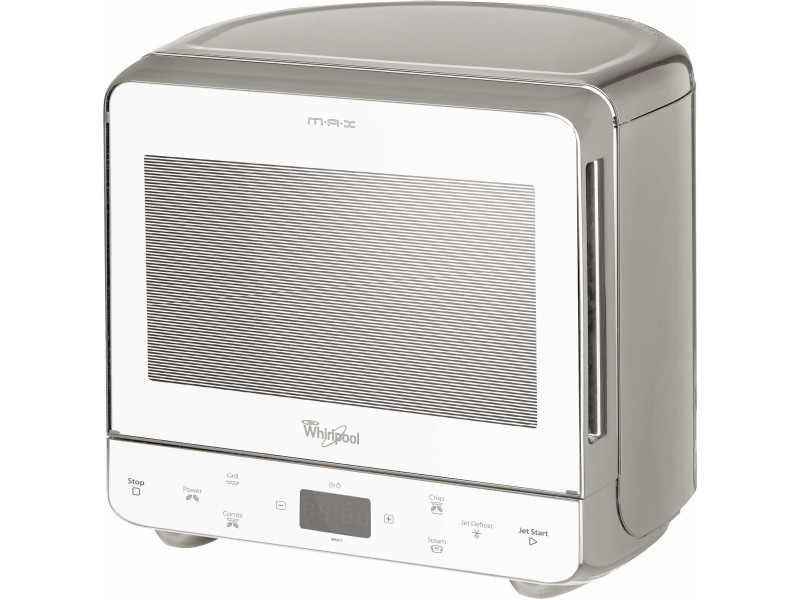Whirlpool max 39 wsl countertop combination microwave 13l 700w argent