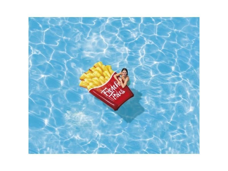 Fauteuil - chaise longue - matelas gonflable piscine matelas gonflable cornet de frites