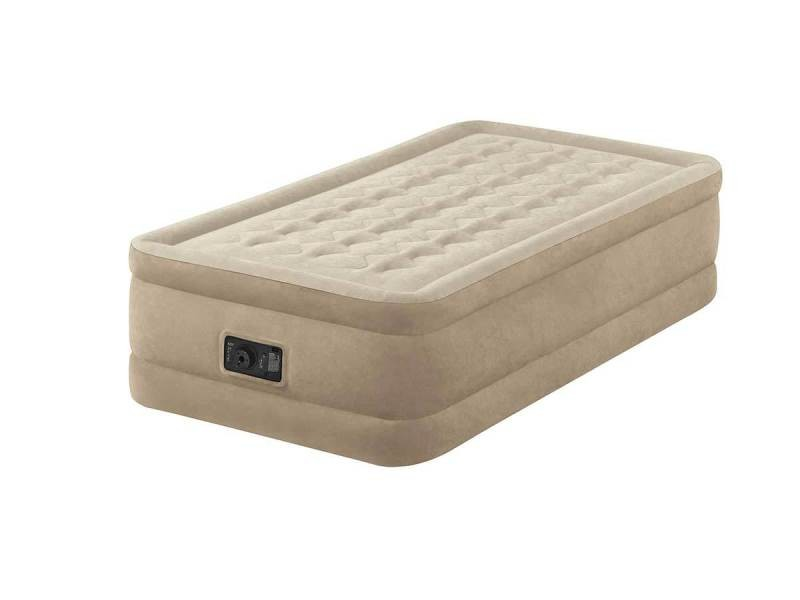 matelas lectrique gonflable 1 place intex ultra plush. Black Bedroom Furniture Sets. Home Design Ideas