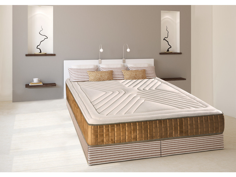 matelas carat 140x190 m moire de forme 26 cm vente de olympe literie conforama. Black Bedroom Furniture Sets. Home Design Ideas