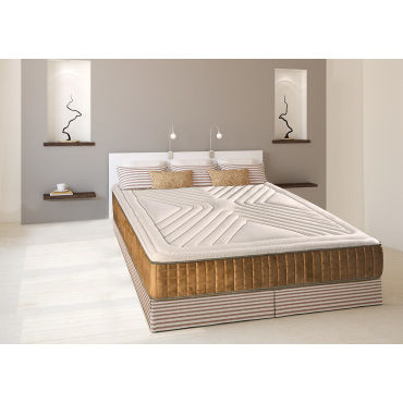 matelas carat 140x190 m moire de forme 26 cm vente. Black Bedroom Furniture Sets. Home Design Ideas