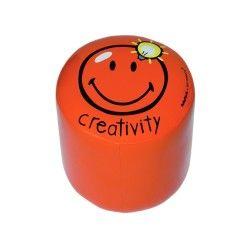 Tabouret - happy colors - creativity - orange