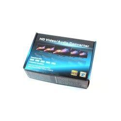 Commutateur vga audio & vidéo analogique vers hdmi numérique 1080p