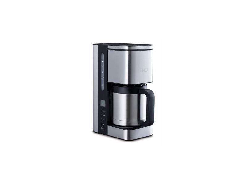 Simeo cfp250 cafetiere filtre-1,2l-1000w-fonction stop-gouttes-encombrement mnimal-depart differe programmable SIM3416879810409
