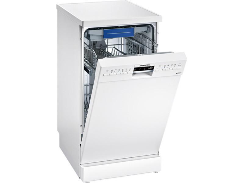 lave vaisselle 45cm 9 couverts a pose libre blanc. Black Bedroom Furniture Sets. Home Design Ideas