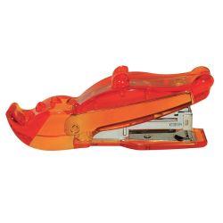 Agrafeuse - crocodile - orange