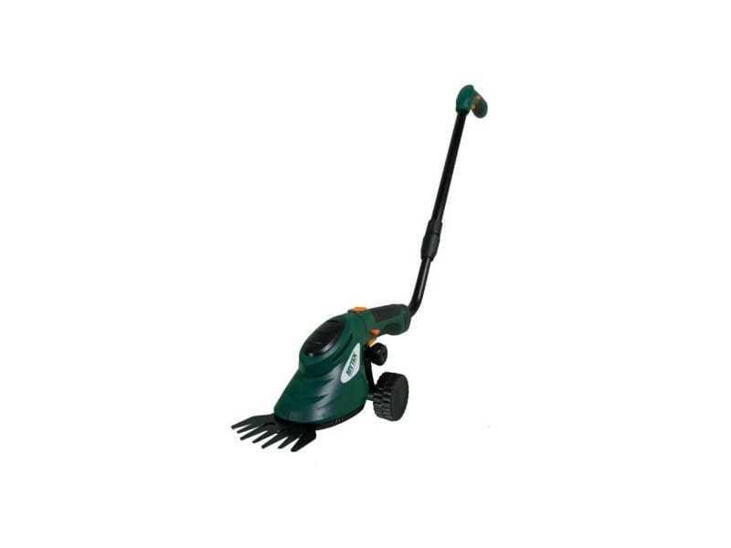 Coupe bordure, cisaille d'herbe a main sur perche électrique télescopique - sans fil - rotation 270° - 3,6 v - avec bat… GPSOT82313AB