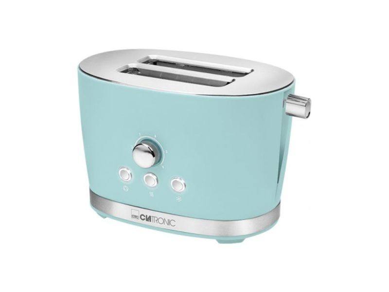 Clatronic grille-pain toaster ta 3690 - couleur menthe 420255