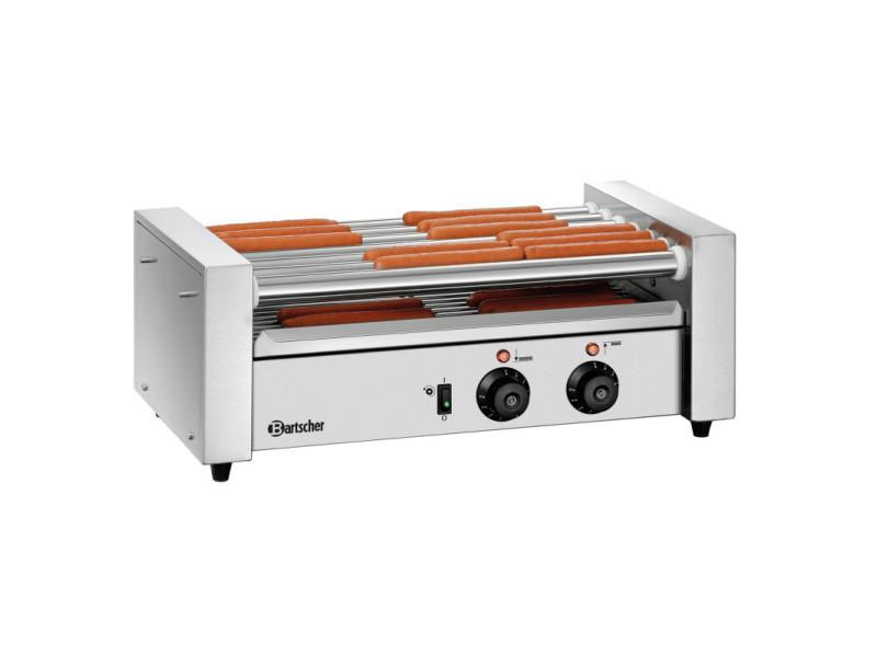 Grill pour saucisses hot dog à rouleaux - bartscher - 320