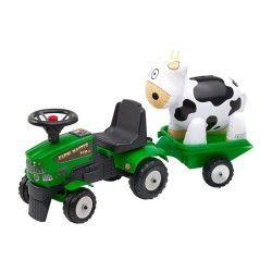 Ldd falquet - porteur farm master 350s vert + remorque et vache gonflable