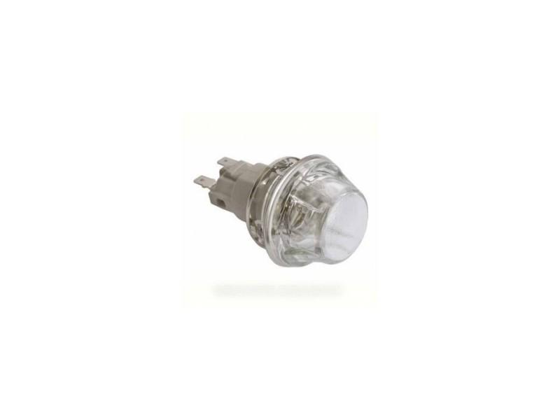 Ensemble hublot + douille + lampe 25w pour four whirlpool