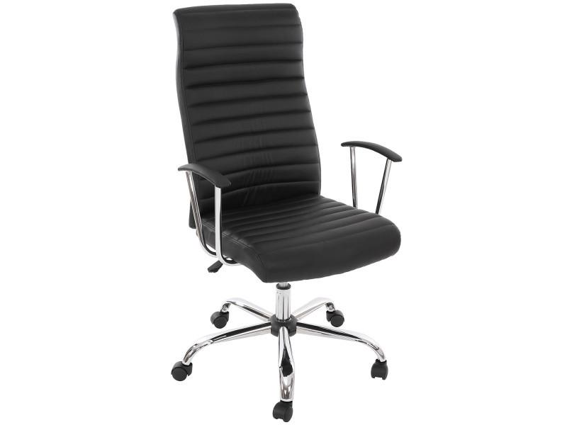 Chaise de bureau pivotante cagliari design ergonomique coloris