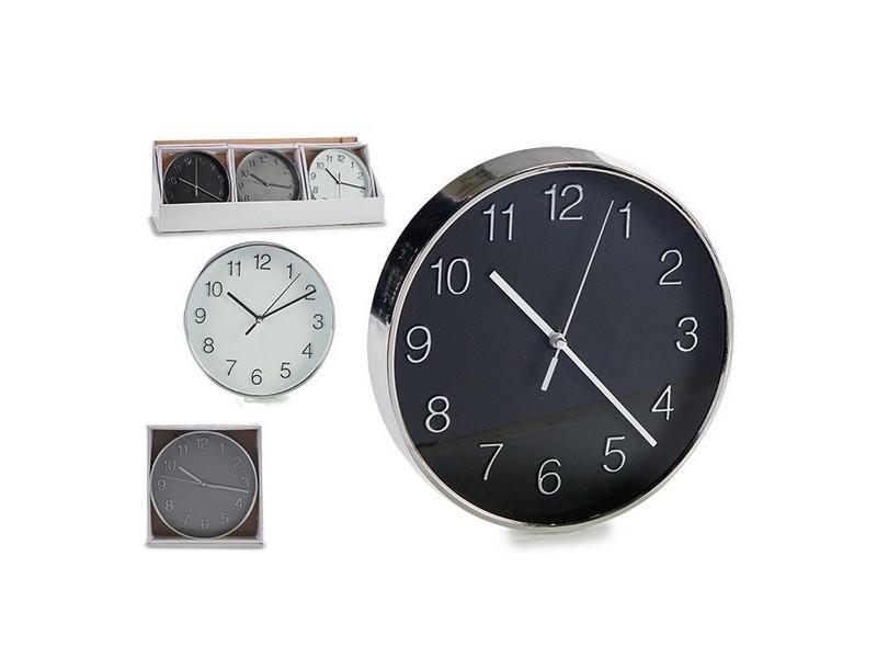 Horloges murales et de table esthetique horloge murale verre plastique 3 (20 x 4 x 20 cm)