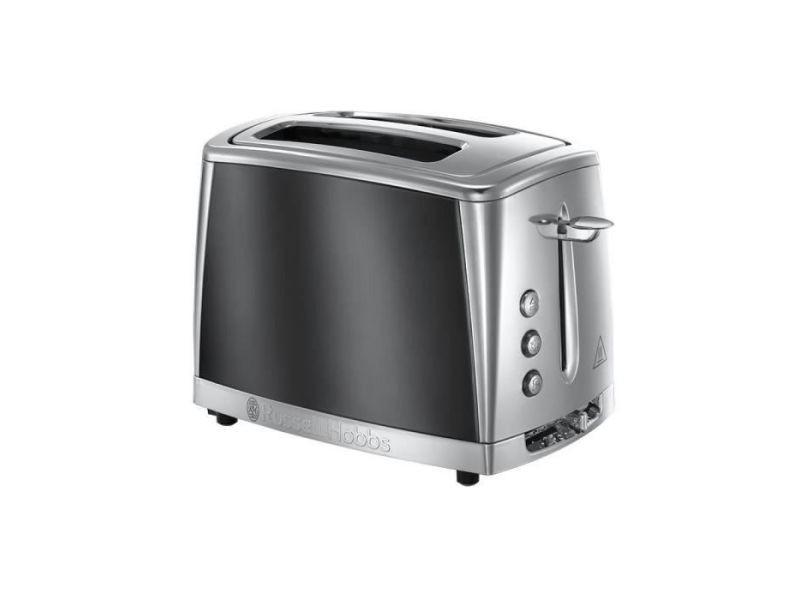 Grille-pains 2 fentes 1550w gris - 23221-56 RUS4008496880072