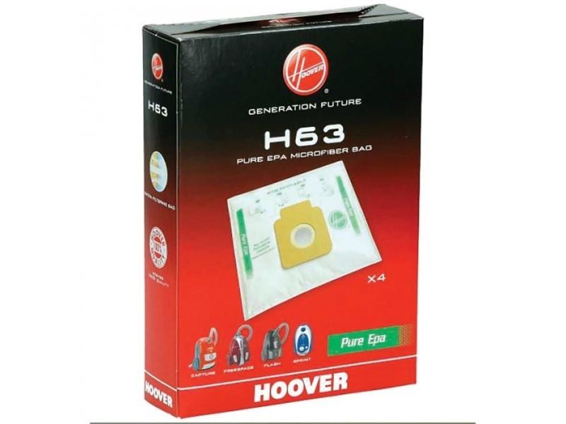 Sacs (x4) h63 pure epa freespace sprint pour aspirateur hoover