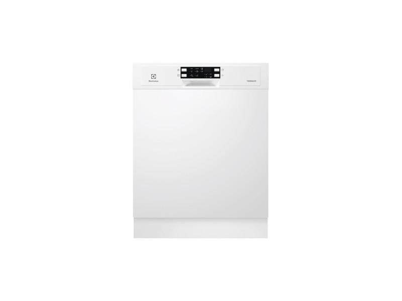 Lave-vaisselle 60cm 13c 45db a+ intégrable avec bandeau blanc - esi5533low esi5533low