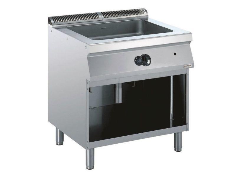 Sauteuse à gaz multifonction pro 700 - l 400 à 800 mm - combisteel - 800 mm
