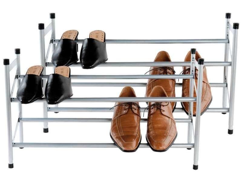 lot de 2 range chaussures stilito vente de compactor conforama. Black Bedroom Furniture Sets. Home Design Ideas