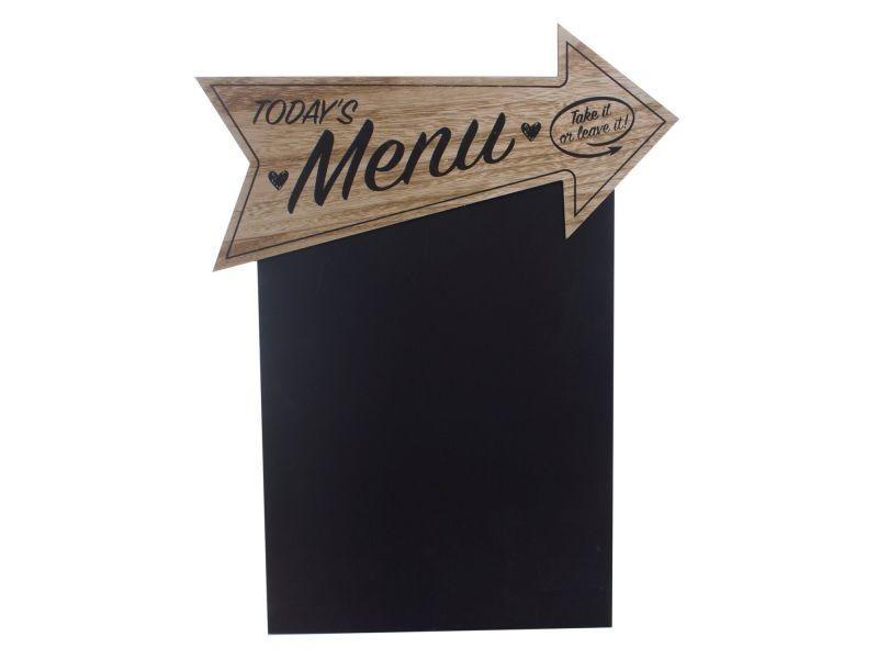 Tableau mémo ardoise -37 x 48 - menu - Vente de Cadre photo ...