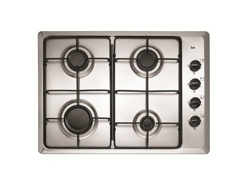 Table de cuisson gaz inox 4 feux teka - hlx 50 4g al HLX_50_4G_AL