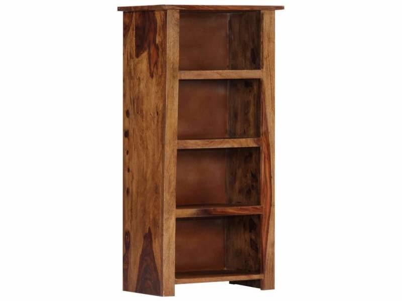 Étagère armoire meuble design bibliothèque 100 cm bois massif helloshop26 2702073/2