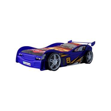 Vipack funbeds lit voiture night racer bleu