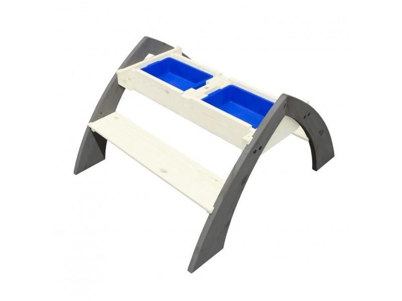 Axi table picnic sable et eau delta 119x98x65cm A031.023.00