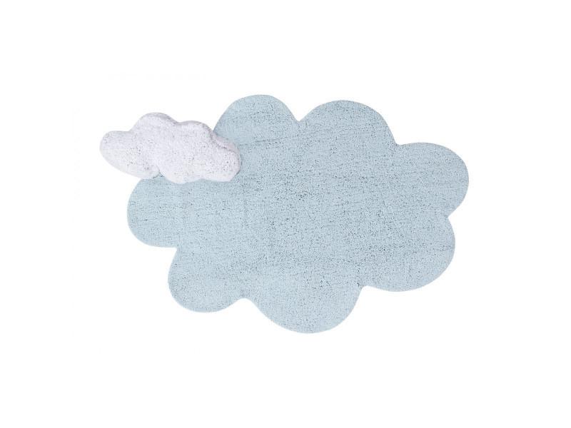 tapis nuage bleu enfant lorena canals puffy dream bleu 110x170 4844 vente de tapis enfant