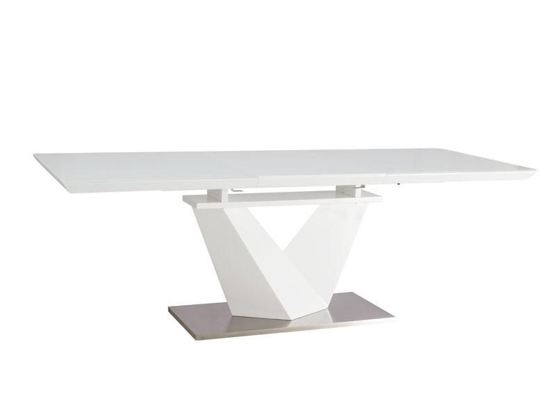 Table à manger rectangulaire extensible 160 ÷ 220 cm