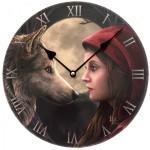 Horloge ronde rencontre de minuit par lisa parker
