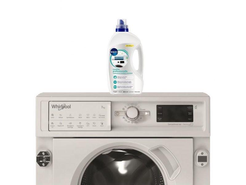 Lave-linge tout intégrable encastrable 7kg 1400trs/min 6eme sens machine à laver hublot