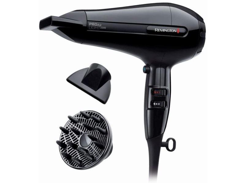 Sèche cheveux céramique ionique 2200w noir