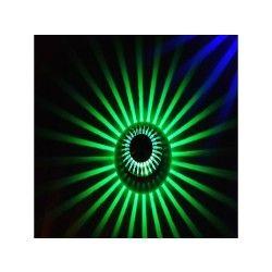 Applique murale moderne à led avec diffuseur de lumière ( ampoule incluse ) vert