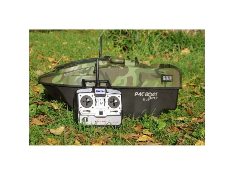Appat - attractif animaux bateau amorceur pacboat start'r evo forest camo