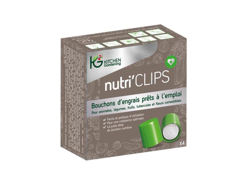 Kitchen gardening boîte de 4 capsules de nutriclips