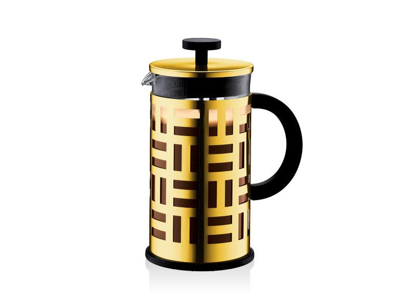 Bodum eileen cafetière à piston, 8 tasses, 1.0 l, acier inox 11195-17