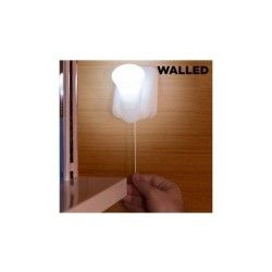 Lampe led portable avec corde walled lb15 (pack de 3)