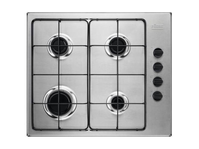 Table de cuisson gaz 60cm 4 feux 8000w inox - fgh62414xa 4068