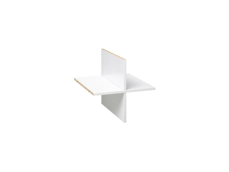 Croisillon - 32 x 32 cm - mix n'modul - blanc