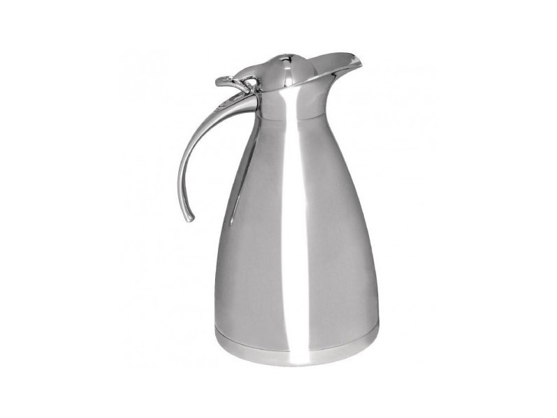 Pichet isotherme inox professionnel olympia - 2 l - 14,5 cm inox 200 cl