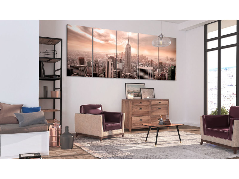 200x80 tableau new york villes joli new york: manhattan