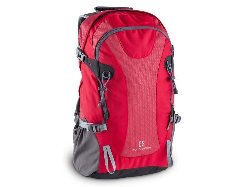 Capital sports ridig sac à dos sport loisir 38 l nylon étanche rouge BP1-Ridig