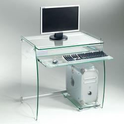 Bureau transparent Conforama
