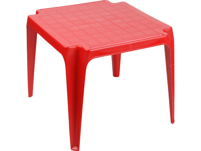 Table empilable tavolo baby - rouge - Vente de SUNNYDAYS - Conforama