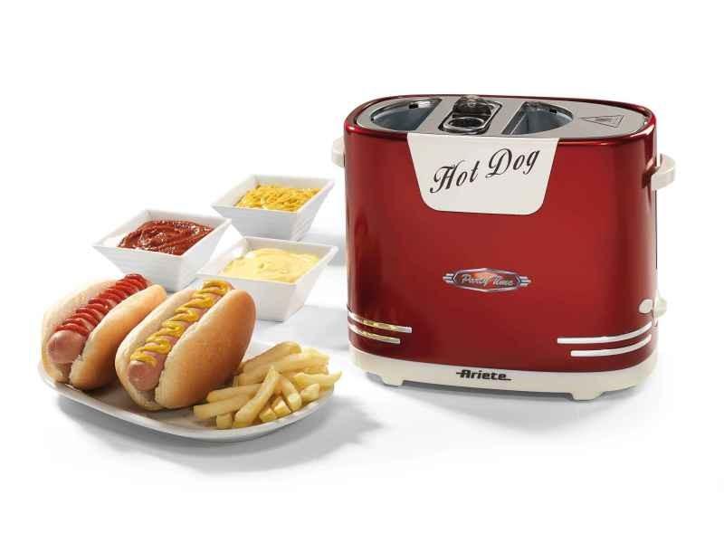 Machine à hot dog 650w rouge - 186 ARI8003705111134