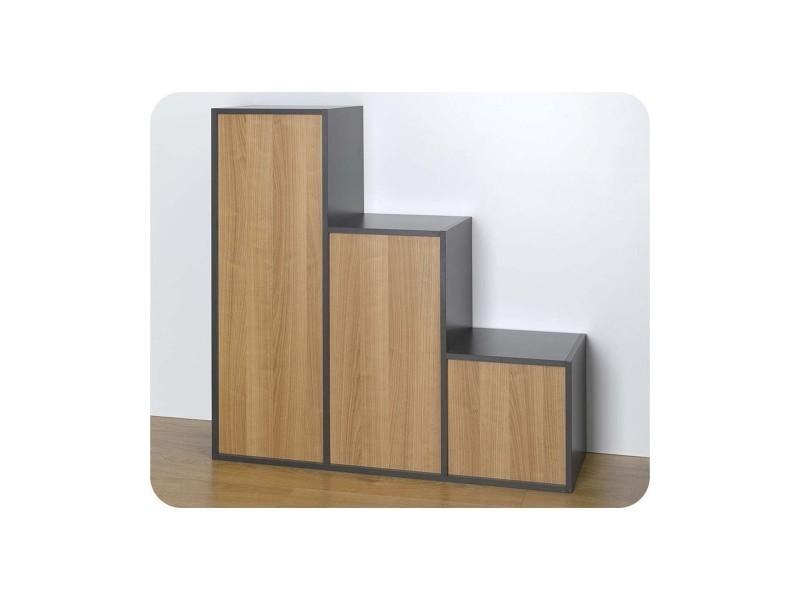 Etagères - 3 cubes de rangement modulables - Vente de MA CHAMBRE D'ENFANT - Conforama